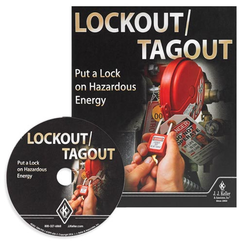 Lockout/Tagout: Put a Lock on Hazardous Energy - DVD Training (08860)