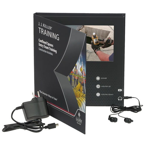 Confined Spaces: Entry Team Training - Construction Activities -  Video Training Book (010785)
