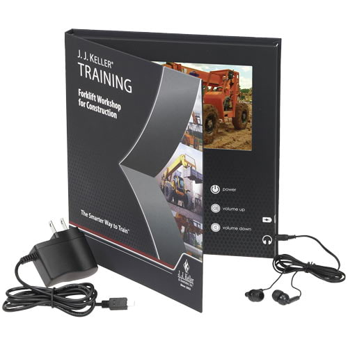 Forklift Workshop for Construction - Video Training Book (010716)
