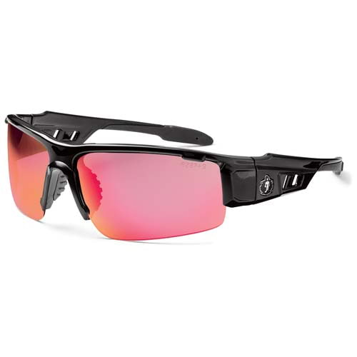 Ergodyne® Skullerz® Dagr Black Frame Safety Glasses (010743)