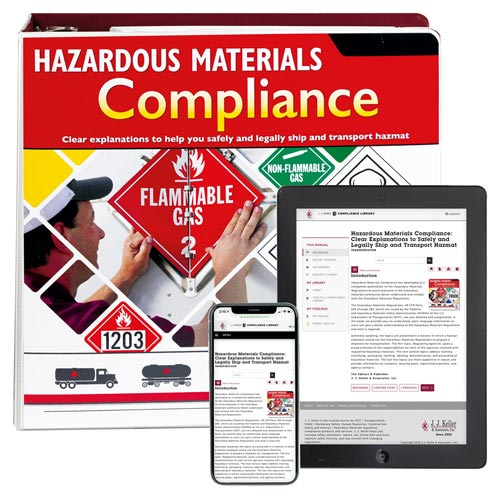 Hazardous Materials Compliance Manual (00262)