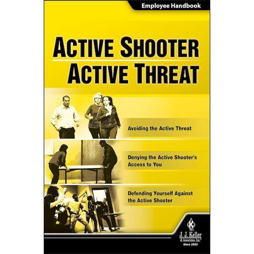 Active Shooter/Active Threat - Employee Handbook (010775)