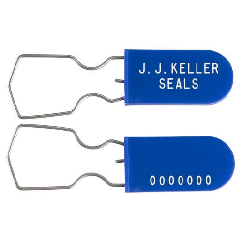 Plastic-Wire Padlock Security Seal (010837)
