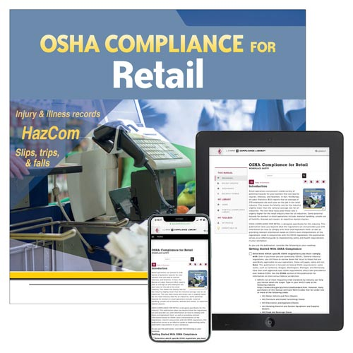 OSHA Compliance for Retail Manual (012073)