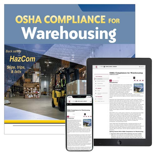 OSHA Compliance for Warehousing Manual (012075)