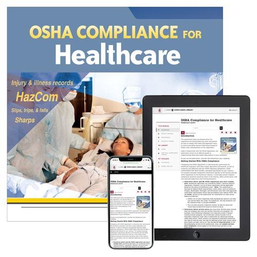 OSHA Compliance for Healthcare Manual (012074)