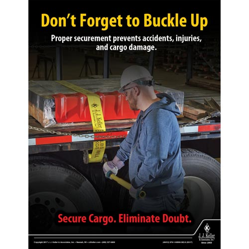 Buckle Up - Transportation Safety Poster (010881)