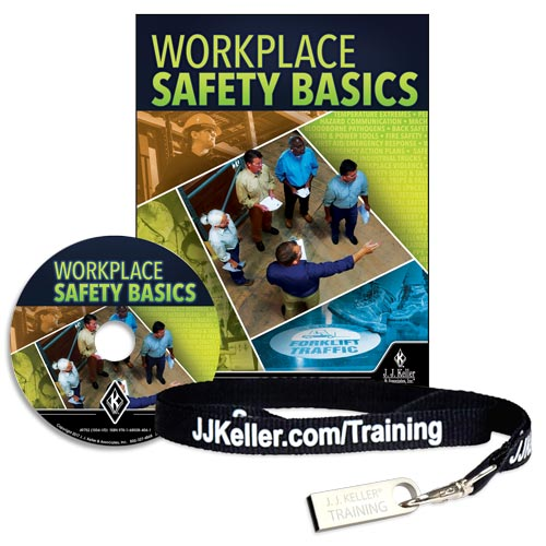 Workplace Safety Basics - DVD Training (010942)