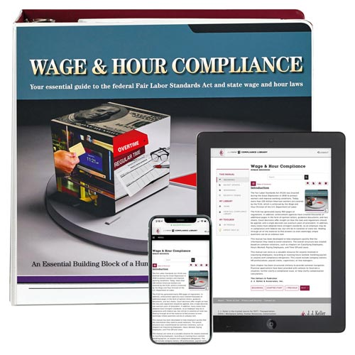 Wage and Hour Compliance with FLSA Manual (08279)