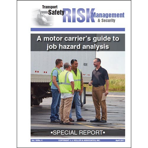 Special Report - A Motor Carrier's Guide to Job Hazard Analysis (012898)