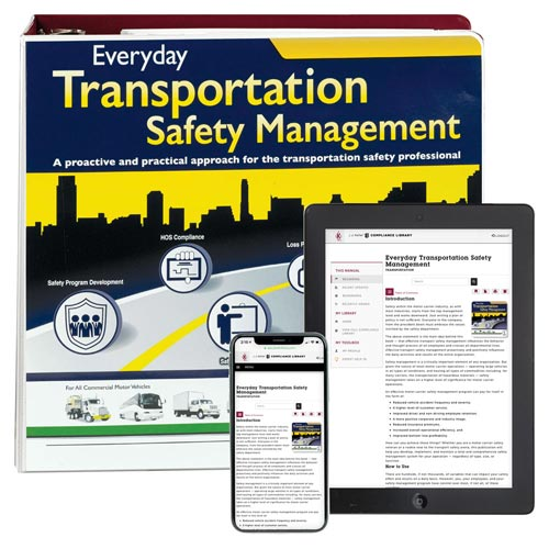 Everyday Transportation Safety Management Manual (01254)