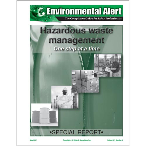Special Report - Hazardous Waste Management: One Step at a Time (013144)