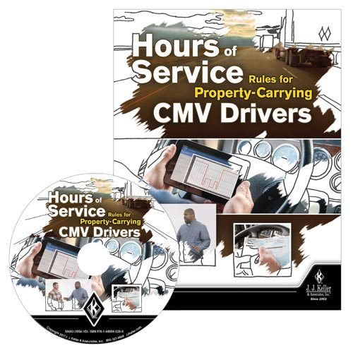 Hours Of Service Rules For Property Carrying CMV Drivers DVD Training