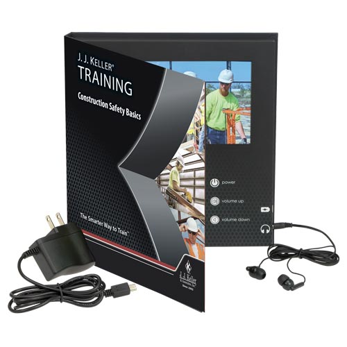Construction Safety Basics - Video Training Book (012797)