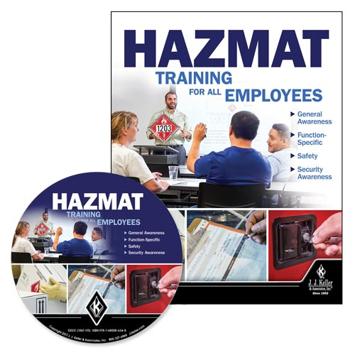 Hazmat: Training for All Employees - DVD Training (013510)