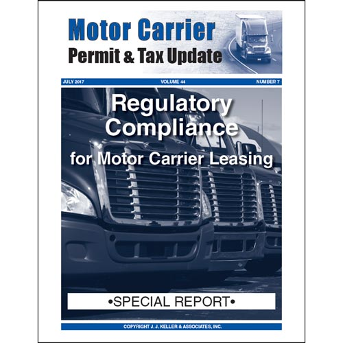 Special Report - Regulatory Compliance for Motor Carrier Leasing (013222)