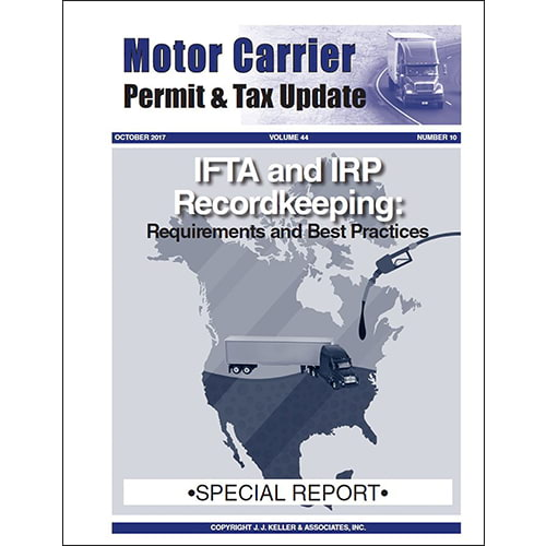 Special Report - IFTA and IRP Recordkeeping (011623)