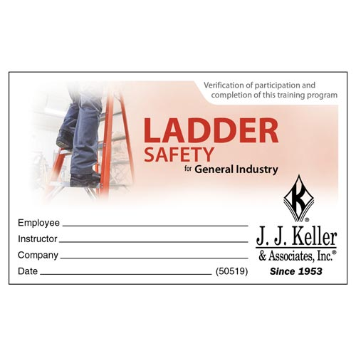 ladder safety for general industry