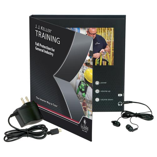 Fall Protection for General Industry - Video Training Book (012282)