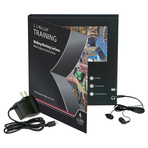 Walking-Working Surfaces: What Employees Need to Know - Video Training Book (012283)