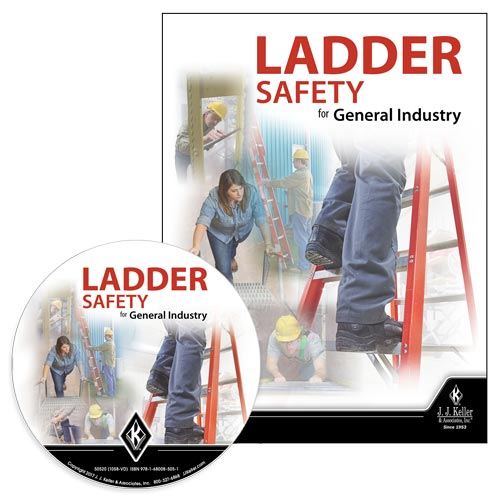 Ladder Safety for General Industry - DVD Training (012284)