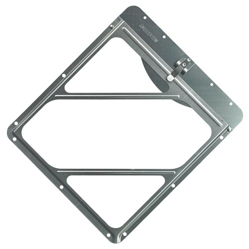 Aluminum Placard Holder With Top Plate (012286)