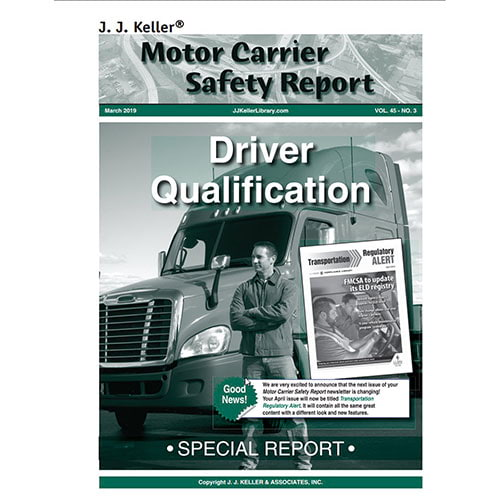 Special Report - Driver Qualification (08386)