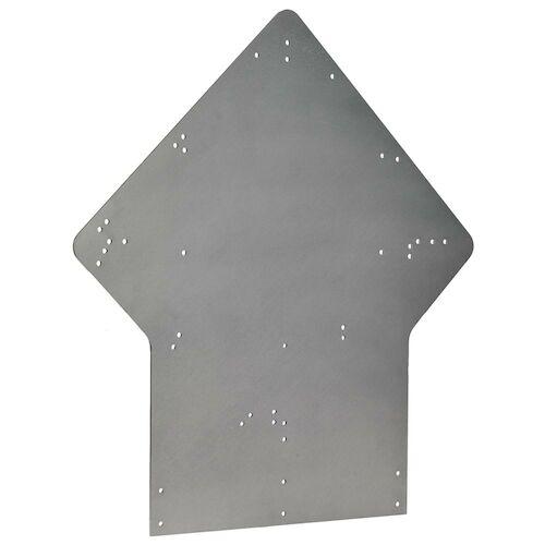 Placard Bumper Bracket: Side-Mount (012490)