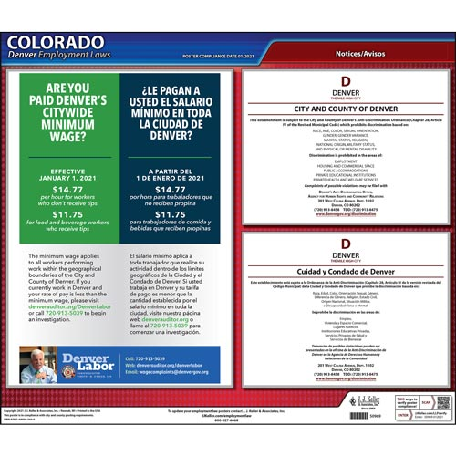 Colorado / Denver Non-Discrimination Poster (012519)