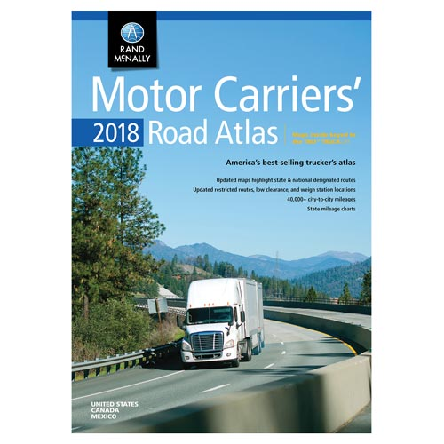 Rand McNally Motor Carriers' Road Atlas (03941)