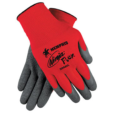 MCR Safety® N9680 Ninja Flex Latex-Coated Work Glove (011183)