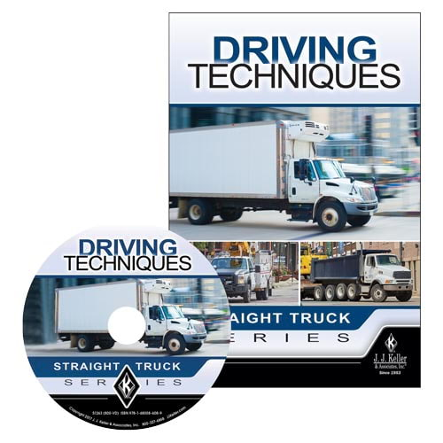 Driving Techniques: Straight Truck Series - DVD Training (013002)