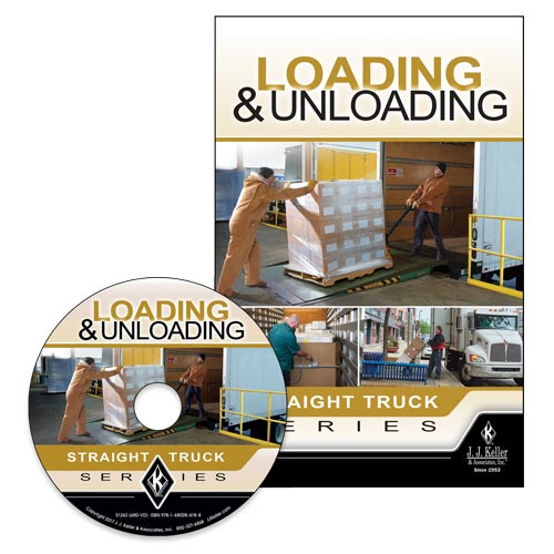 Loading & Unloading: Straight Truck Series - DVD Training (012940)