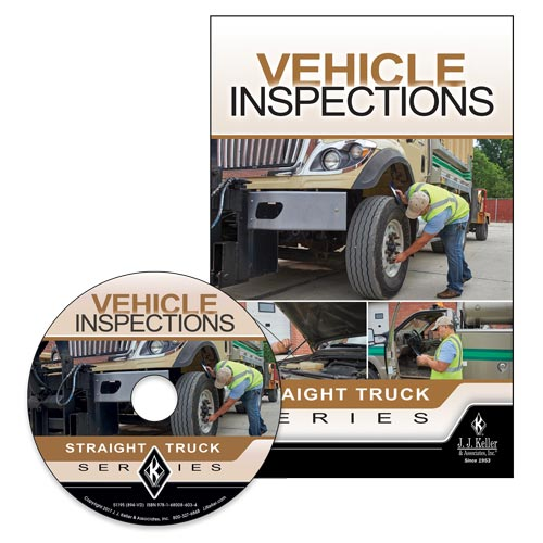 Vehicle Inspections: Straight Truck Series - DVD Training (013004)