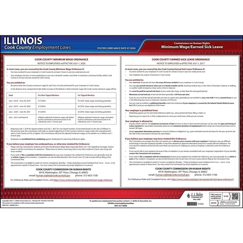 Illinois / Cook County Municipal Ordinances Poster (013071)