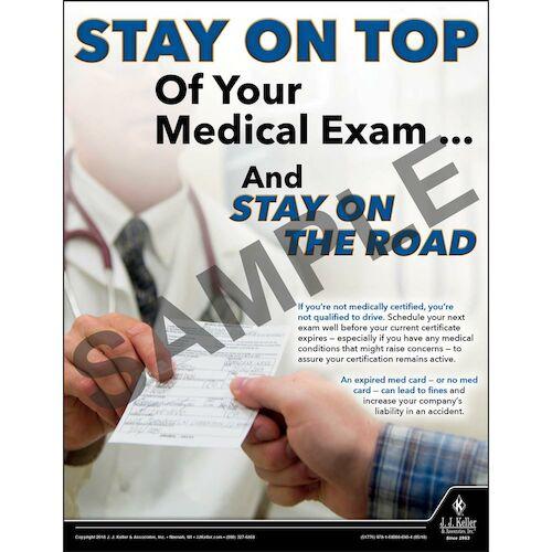 Medical Exam - Motor Carrier Safety Poster (013135)