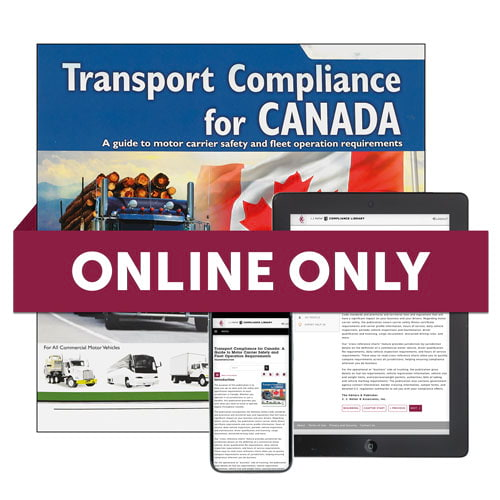 Transport Compliance for Canada Online Edition (06120)