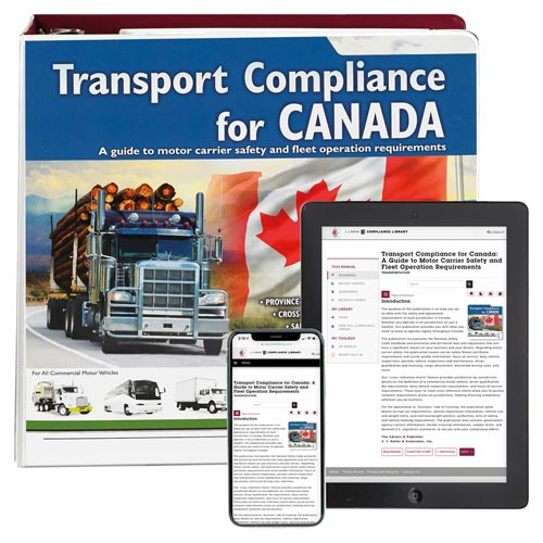Transport Compliance for Canada Manual (06120)
