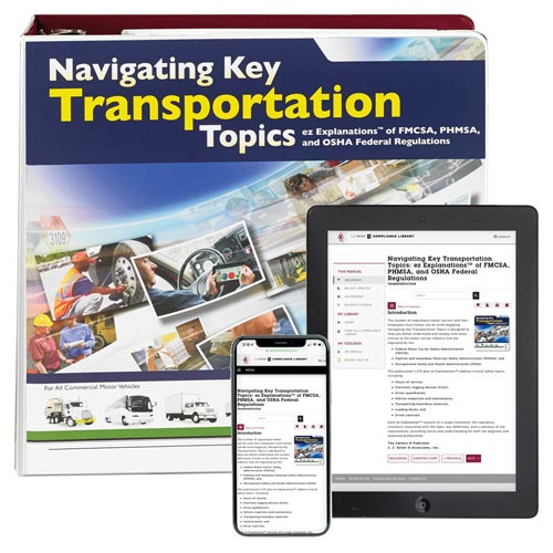 Navigating Key Transportation Safety Topics Manual (00309)