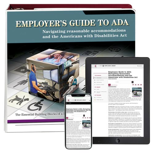 Employers Guide to ADA Manual (00354)