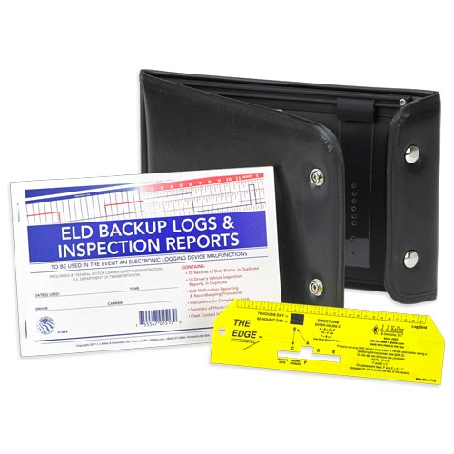 ELD Backup Log Book Kit (013401)