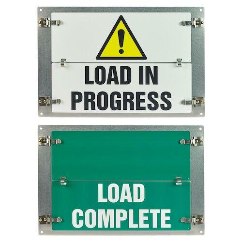 Flip-File Sign, Load Status, 2-Legend (013243)