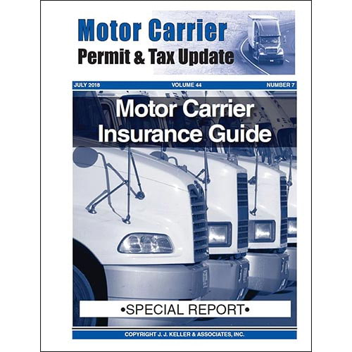 Special Report - Motor Carrier Insurance Guide (08371)