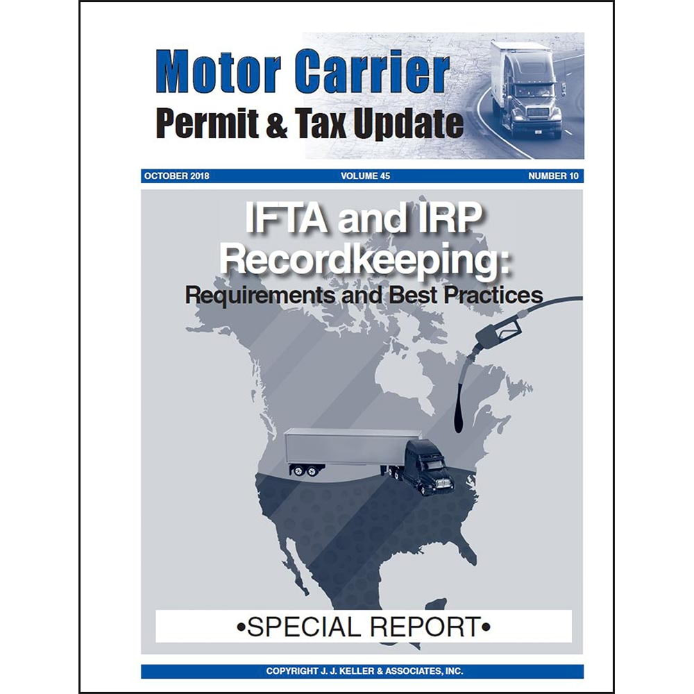 Special Report: IFTA and IRP Recordkeeping (011623)