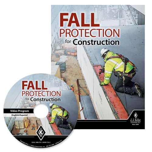 Fall Protection for Construction - DVD Training (013655)
