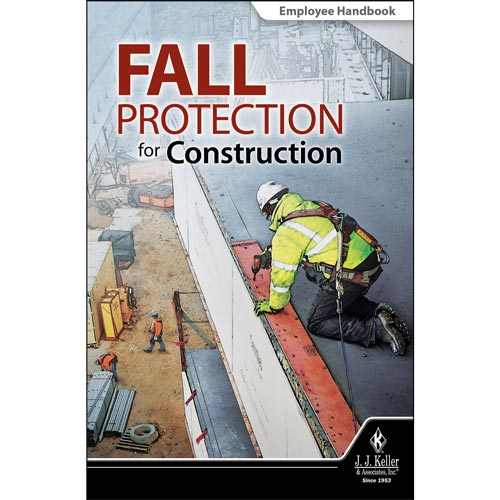 Fall Protection for Construction - Employee Handbook (013654)