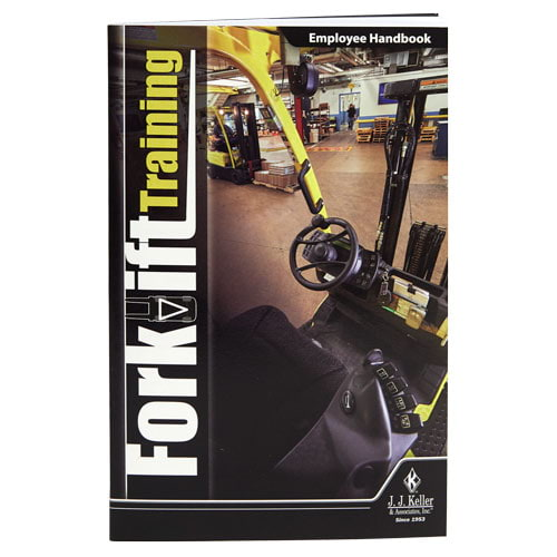 Forklift Training - Employee Handbook (013673)