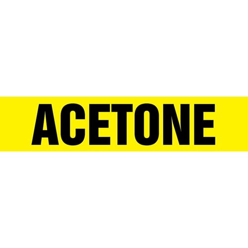 Acetone Pipe Marker - ASME/ANSI (013683)