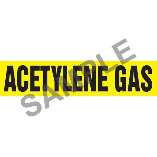 Acetylene Pipe Marker - ASME/ANSI (013684)