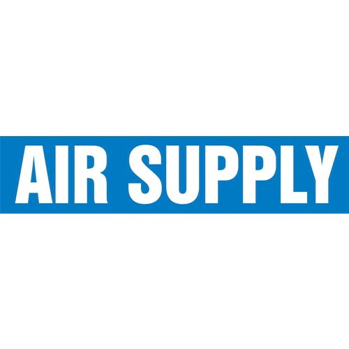 Air Supply Pipe Marker - ASME/ANSI (013689)